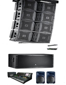 PAKET SOUND SYSTEM ARRAY 60.000WATT
