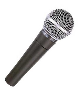 WIRED MIC SHURE SM-58