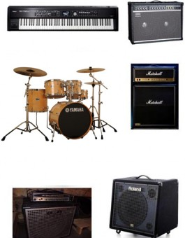 FULL BAND STANDARD ARTIST PACKAGE / BACKLINE