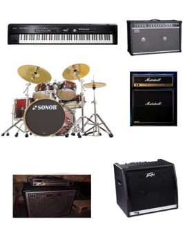 FULL BAND PACKAGE / BACKLINE