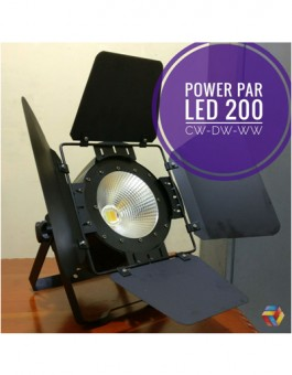 POWER PAR LED 200W