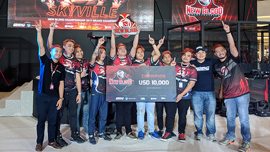 skyville-juara-new-blood-championship