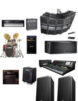 60000 WATTS JBL-VERTEC SOUND SYSTEM + BACKLINE